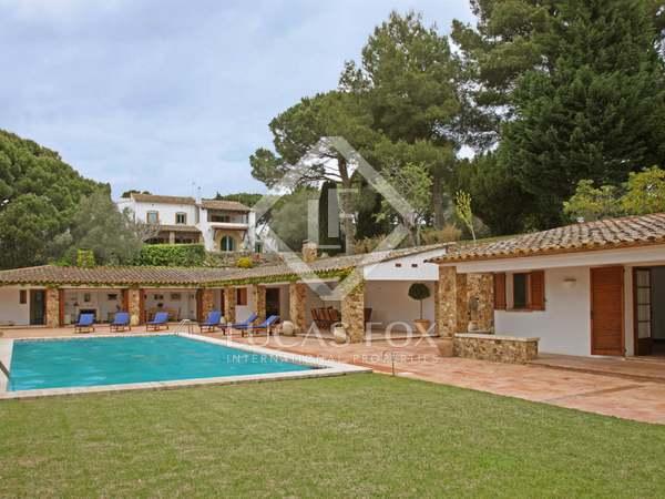 Exklusiv lyxfastighet att hyra i Calella de Palafrugell