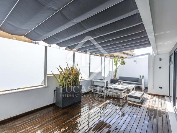 Penthouse van 230m² te koop met 35m² terras in Sant Francesc