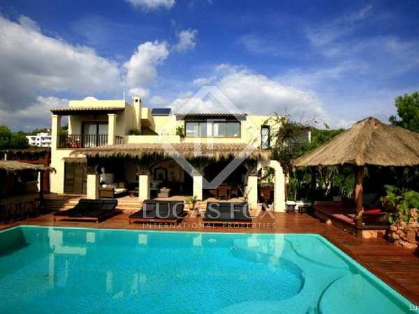 Lyxigt 14-sovrums hus till salu i Cap Martinet, Ibiza