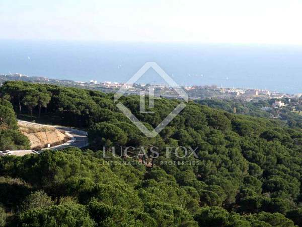 Maresme coast building plots for sale in Sant Andreu de Llavaneres.