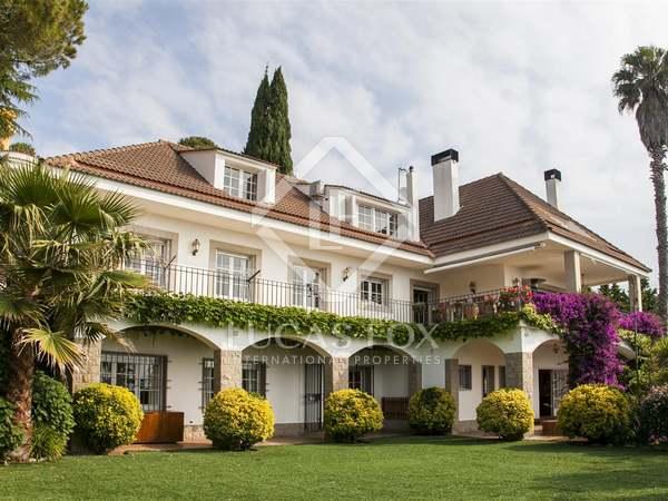 Luxe villa te koop tussen Blanes en Lloret, Costa Brava