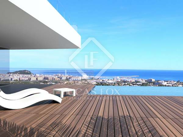 New build villa for sale in Montgo with views of Denia