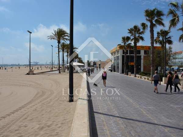 Solar de 904 m² en venta frente a la playa de la Malvarrosa