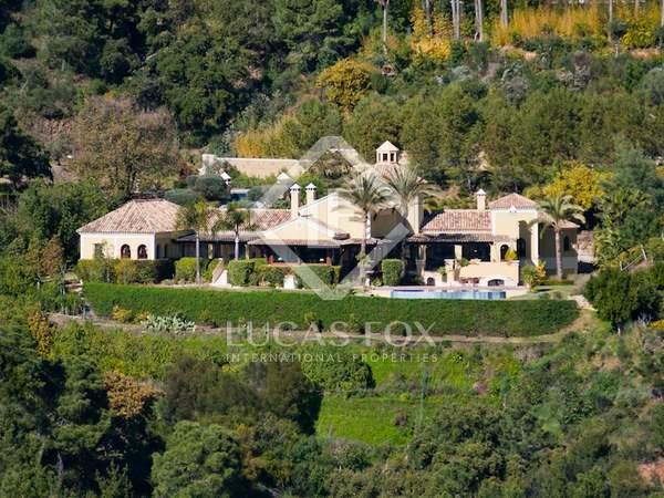 Maison / Villa de 456m² a vendre à La Zagaleta, Andalousie