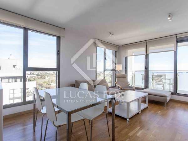 100m² Penthouse with 15m² terrace for rent in Ciudad de las Ciencias