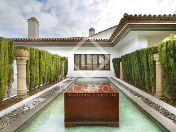 Luxurious modern house for sale in the heart of Sotogrande