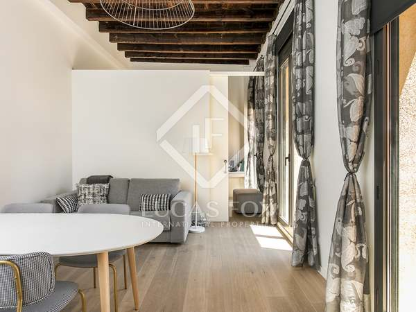 75m² Apartment with 45m² terrace for rent in El Born