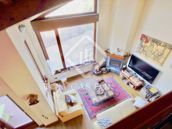 Fantastic triplex penthouse for sale in Ordino, Andorra
