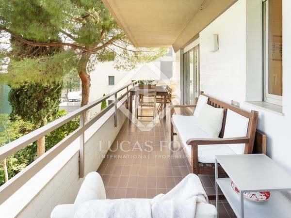 114 m² apartment with 25 m² terrace for sale in Pedralbes