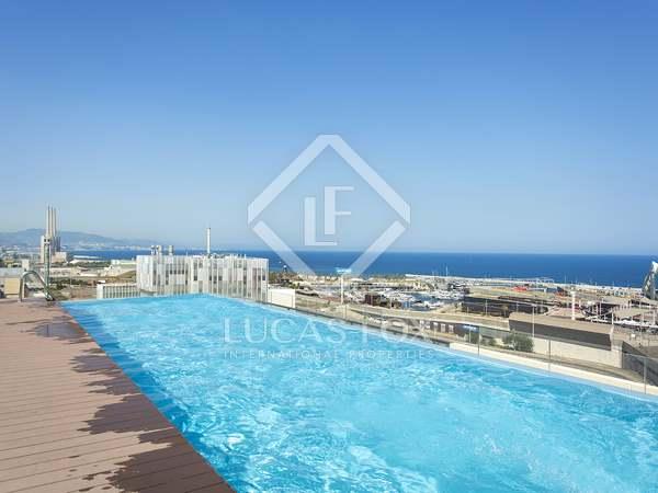 Piso con 9 m² de terraza en alquiler en Diagonal Mar