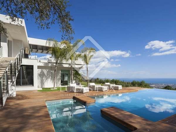 Modern 5-sovrums villa till salu i La Zagaleta , Marbella
