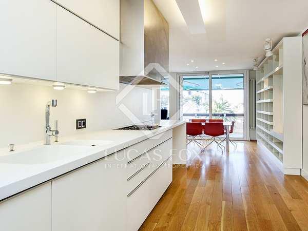 Furnished designer apartment for rent in front of Camp Nou
