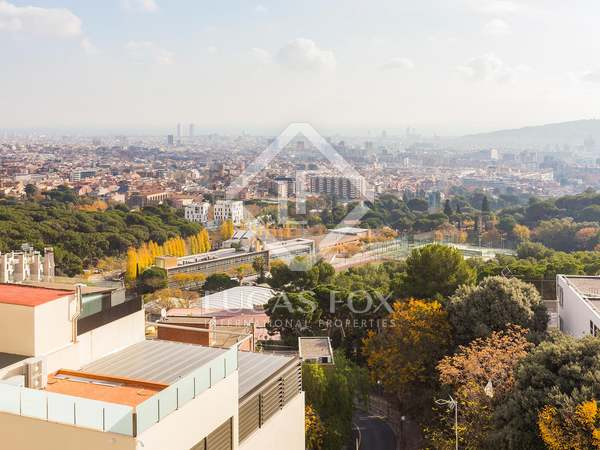 House with impressive city views for sale in Sarrià