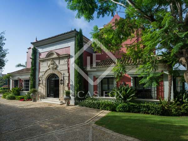 Outstanding luxury villa for sale in La Zagaleta, Marbella