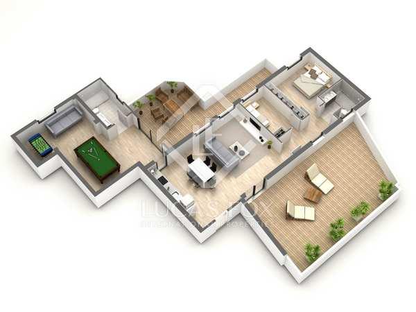 Appartement de 110m² a vendre à Gavà Mar avec 88m² terrasse