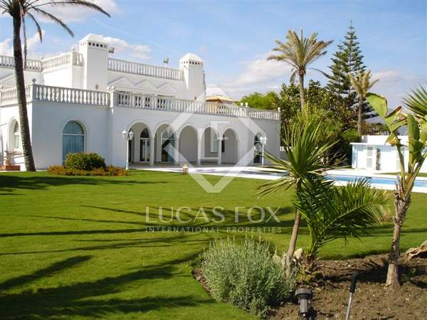 Beachside property for sale in Guadalmina Baja, Marbella