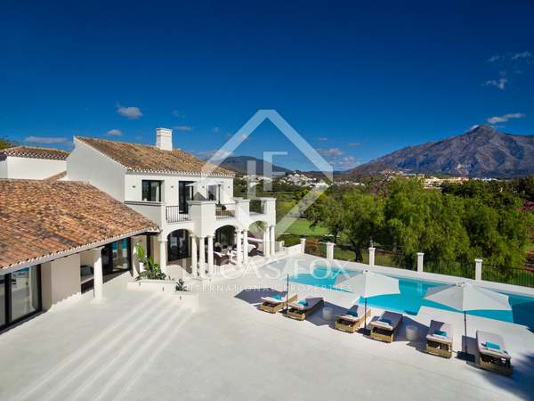 1,107m² House / Villa with 580m² terrace for sale in Nueva Andalucía