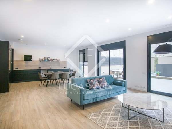 Piso de 130m² con terraza de 131m² en venta en Poble Sec