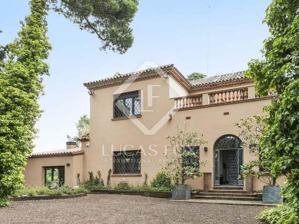 509m² Hus/Villa till salu i Vallvidrera, Barcelona