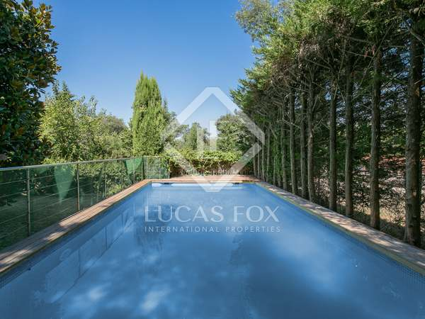 422m² House / Villa with 90m² garden for sale in Vallvidrera