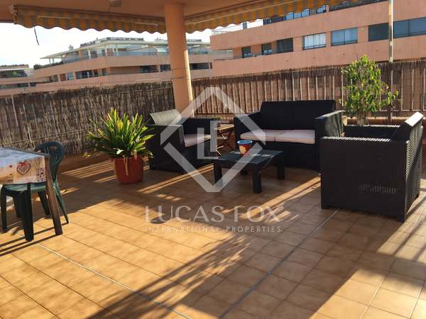 126m² penthouse with terrace for sale in Alboraya