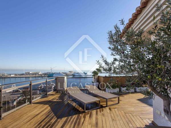 120m² Penthouse with 122m² terrace for sale in Denia