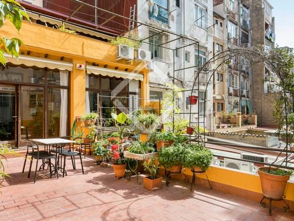 Appartement de 133m² a vendre à Gràcia avec 67m² terrasse