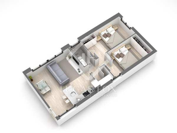 Appartement van 65m² te koop in Gavà Mar, Barcelona