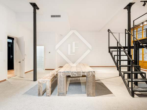 117m² Loft med 14m² terrass till salu i El Born, Barcelona