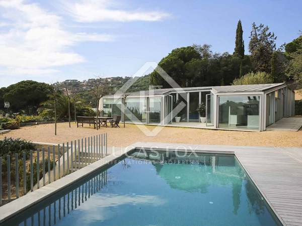Modern home for rent in Premià de Dalt, Spain
