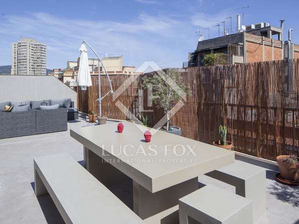 3-bedroom penthouse for sale in the centre of Barcelona