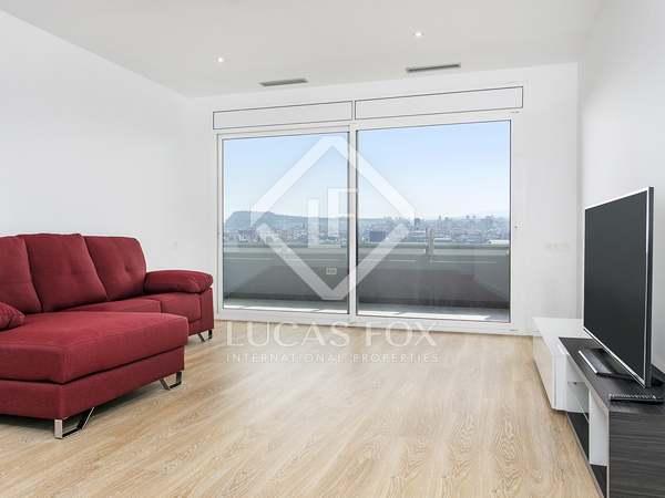 Appartamento di 90m² con 27m² terrazza in affitto a Poblenou