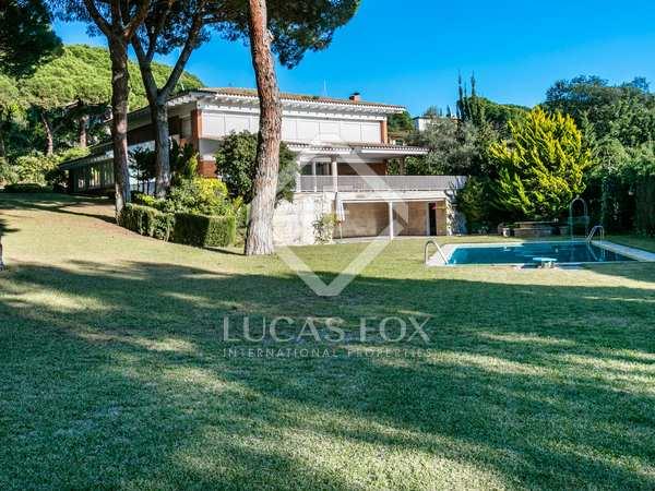 Finca con 2 casas en venta en Sant Andreu de Llavaneres