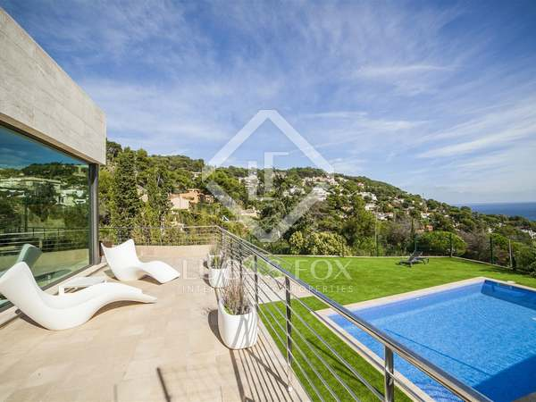 Luxury villa for sale in Blanes on the Costa Brava