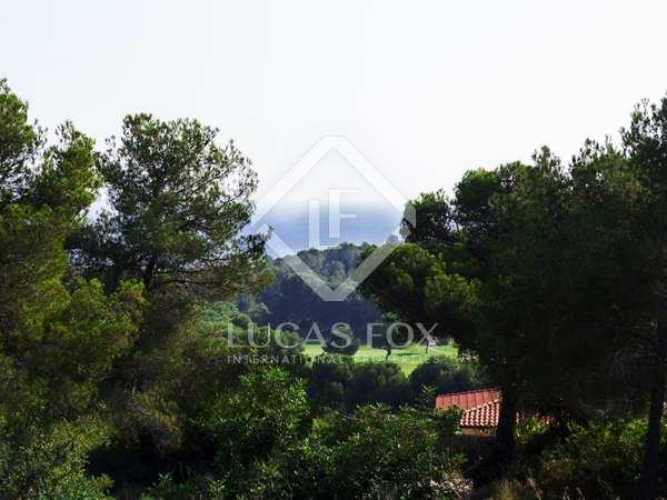 Parcel·la de 1,292m² en venda a Terramar, Sitges