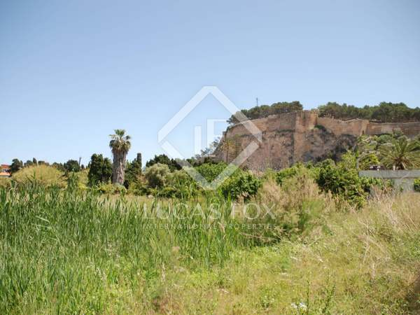 Building plot for sale in Denia, Costa Blanca