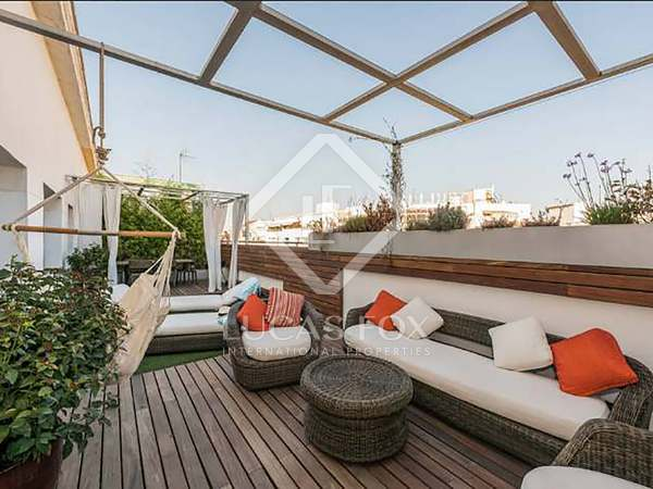 A unique penthouse with terrace to buy in Salamanca, Madrid