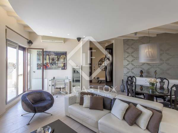 91m² Apartment with 12m² terrace for rent in Gran Vía