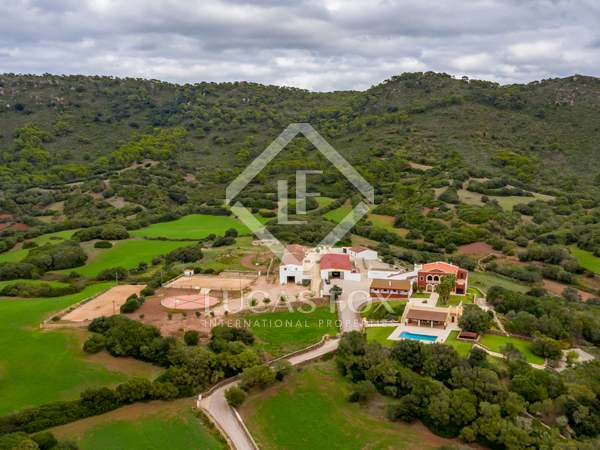 Country estate for sale in Menorca Spain