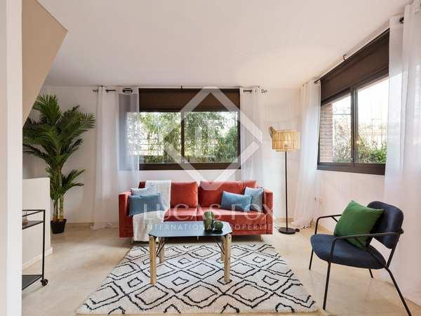 Piso de 93 m² con 57 m² de jardín en venta en Sant Cugat