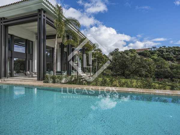 Villa under konstruktion till salu i La Zagaleta, Marbella