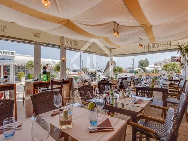 Restaurante en venta en el Puerto Deportivo de Santa Eulalia