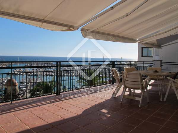 105m² Apartment with 80m² terrace for rent in Bellamar