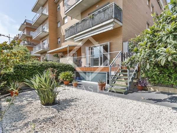 Piso de 103m² con 96m² de jardín en venta en Vilanova i la Geltrú