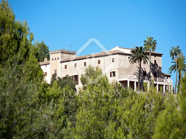 Country property for sale in Puigpunyent, West Mallorca