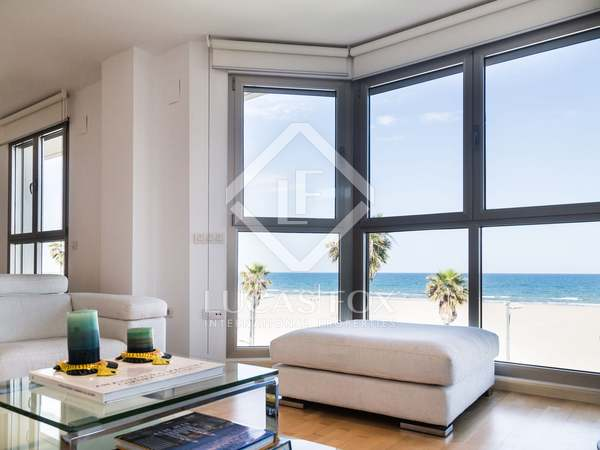 Fantastic apartment for sale in Playa Patacona, Valencia Coast