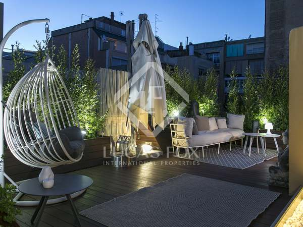 Penthouse de 193m² a vendre à El Putxet avec 200m² terrasse