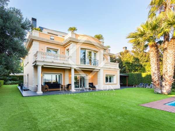 Espectacular villa en venta en Pedralbes, Barcelona