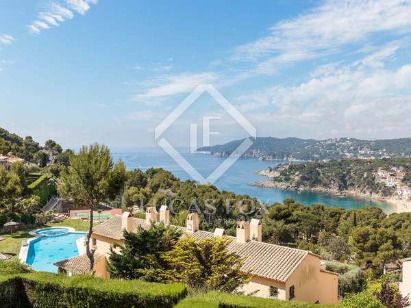 Terraced house with panoramic sea views for sale in Llafranc