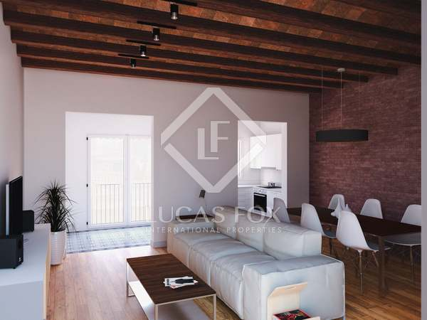 74 m² apartment with 96 m² terrace for sale in Gracia